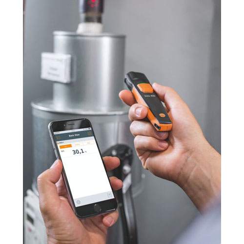 Sonde thermometre infrarouge bluetooth testo 805i smartphone